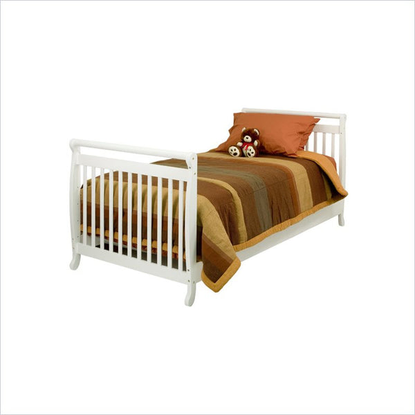 Da Vinci Emily Twin Size Bed in White