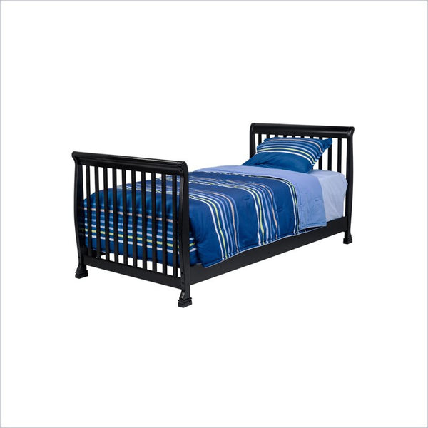 Da Vinci Kalani Twin Size Bed in Ebony