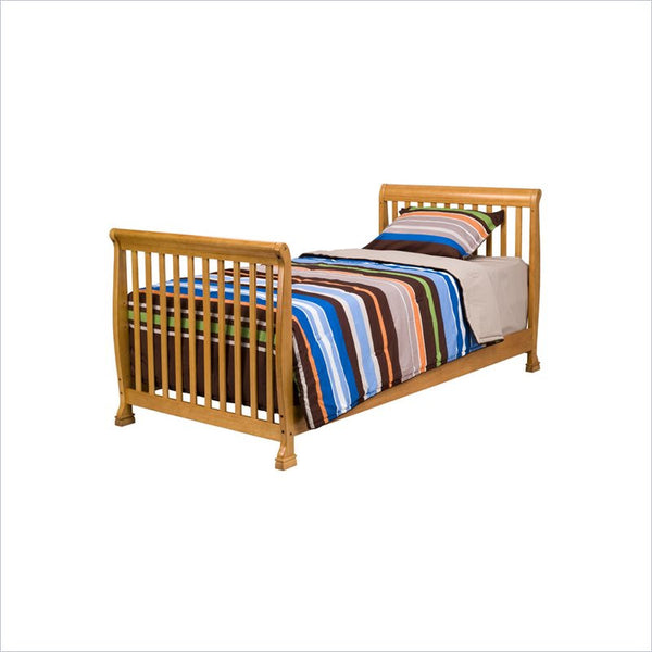 Da Vinci Kalani Twin Size Bed in Honey Oak