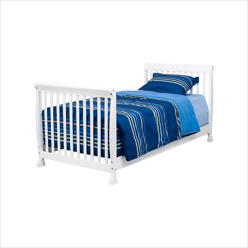 Da Vinci Kalani Twin Size Bed in White