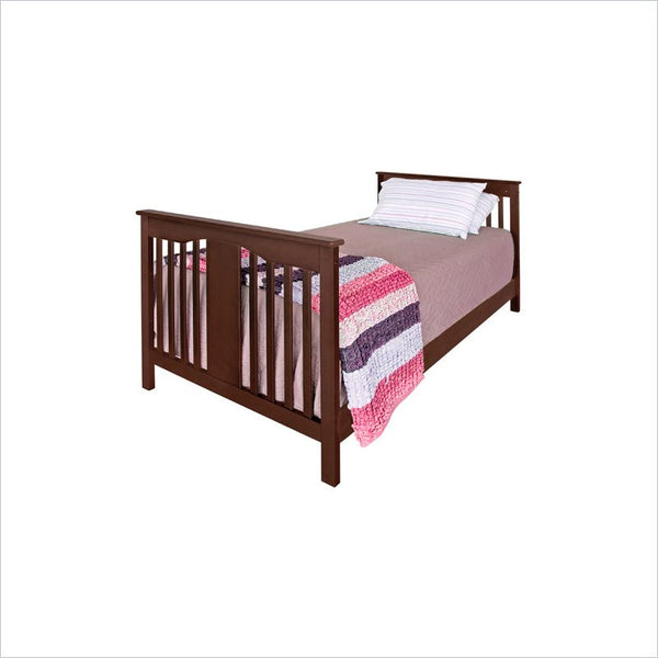 Da Vinci Annabelle Twin Size Bed in Espresso