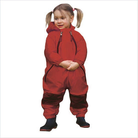 Tuffo Muddy Buddy Waterproof Coverall in Red