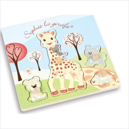 Janod Sophie the Giraffe Puzzle