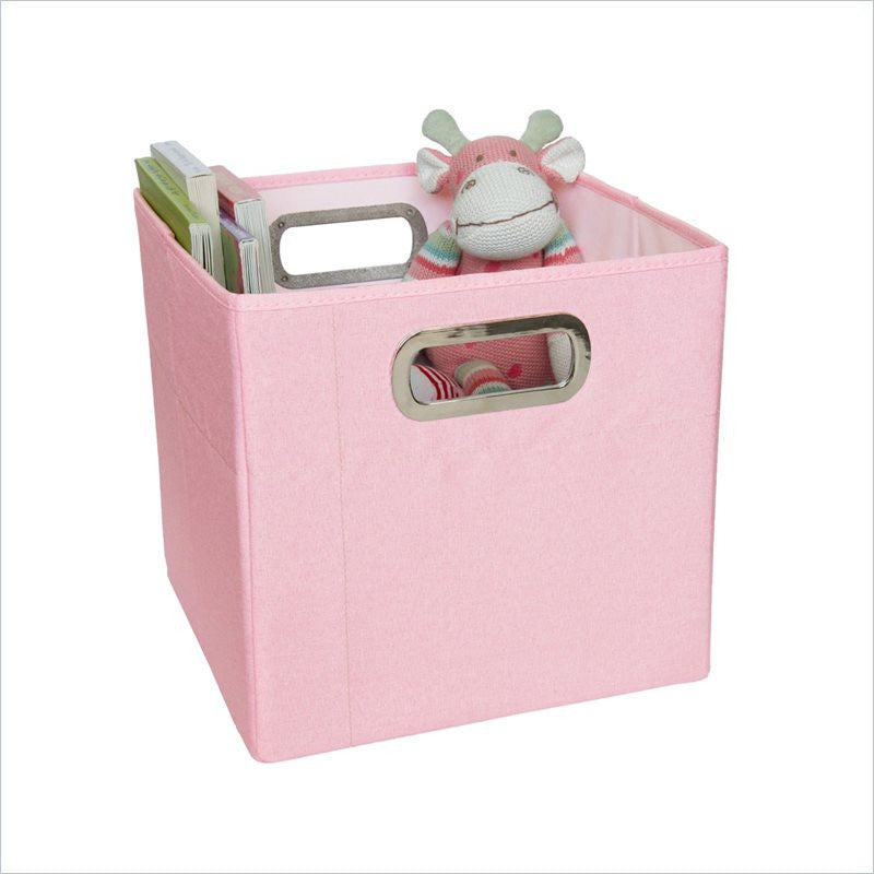 JJ Cole Storage Box 11 Inch in Pink Heather
