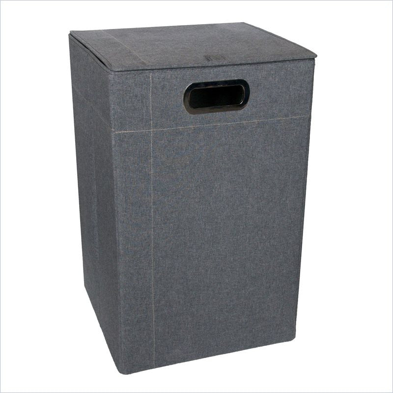 JJ Cole Hamper in Slate Heather