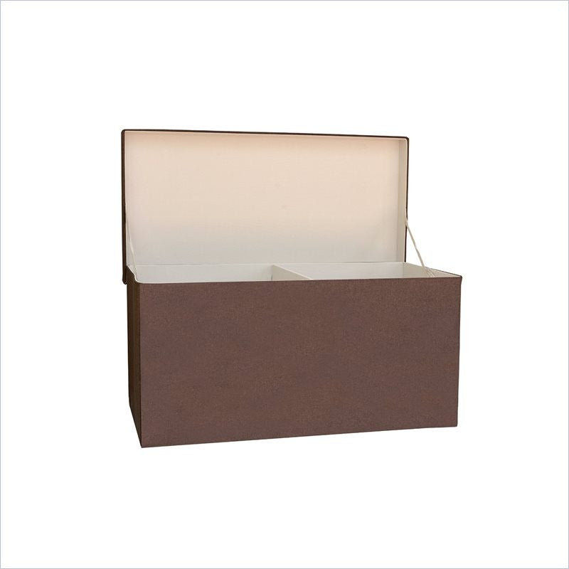 JJ Cole Toy Storage Box in Cocoa Heather