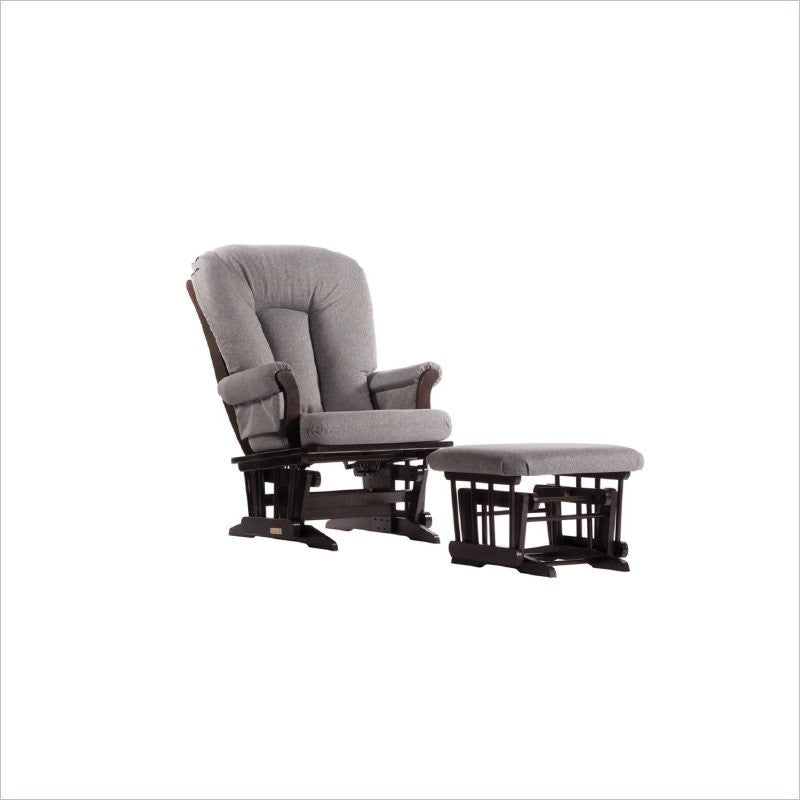 Dutailier Sleigh Glider Rocker with Multiposition Lock and Recline