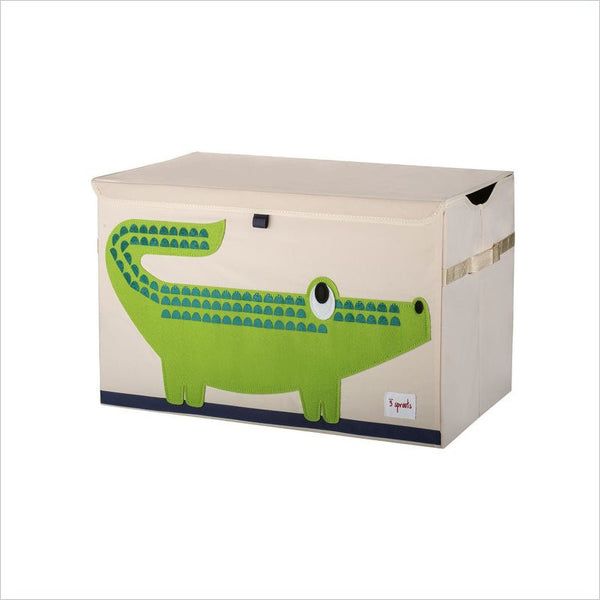 3 Sprouts Crocodile Toy Chest