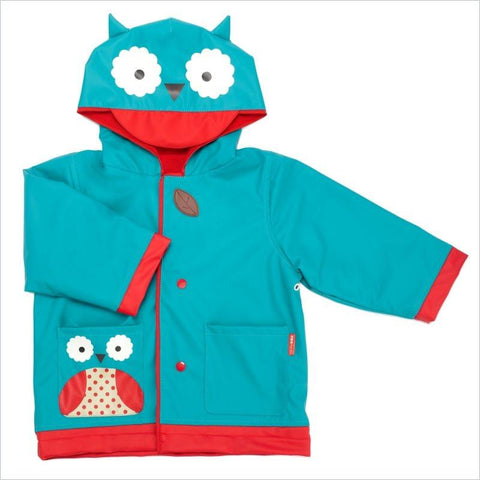Skip Hop Zoo Little Kid Raincoat in Owl