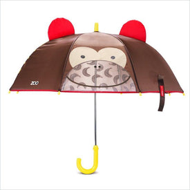 Skip Hop Zoobrella Little Kid Umbrella in Monkey