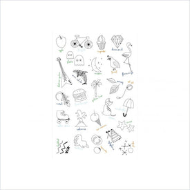 Babyletto Alphabets Wall Decals