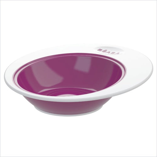 Beaba Ellipse Bowl in Plum