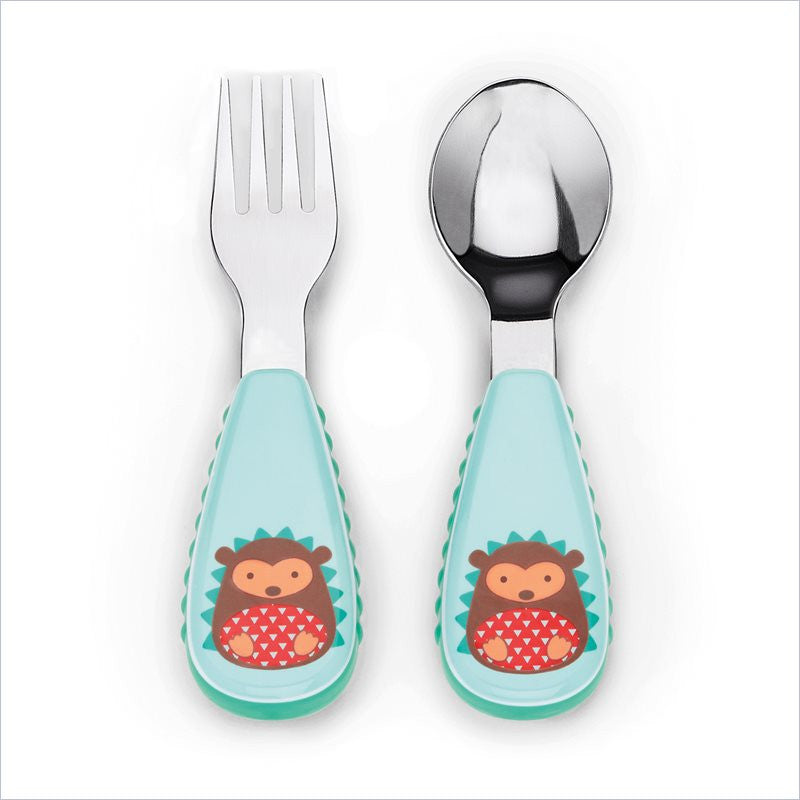 Skip Hop Zoo Utensil Set  in Hedgehog