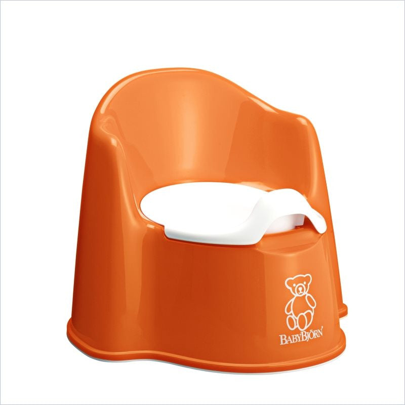 Baby Bjorn Potty Chair In Orange