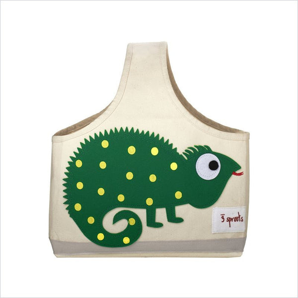 3 Sprouts Iguana Storage Caddy in Green