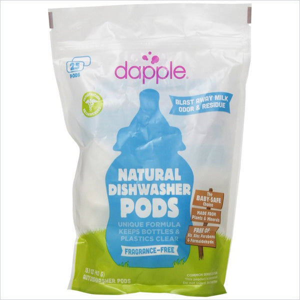 Dapple Naturally Clean Automatic Dishwasher Pods (25 count)