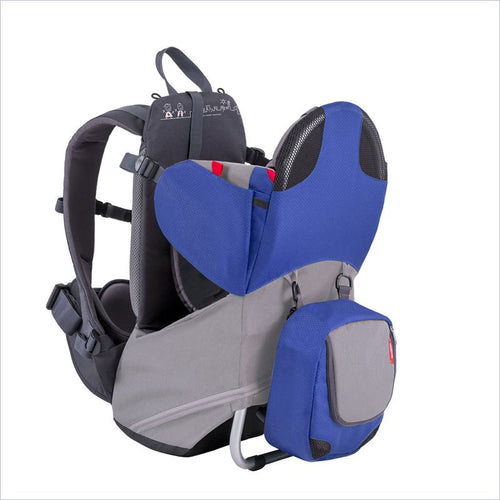 Phil & Teds Parade Baby Carrier in Blue