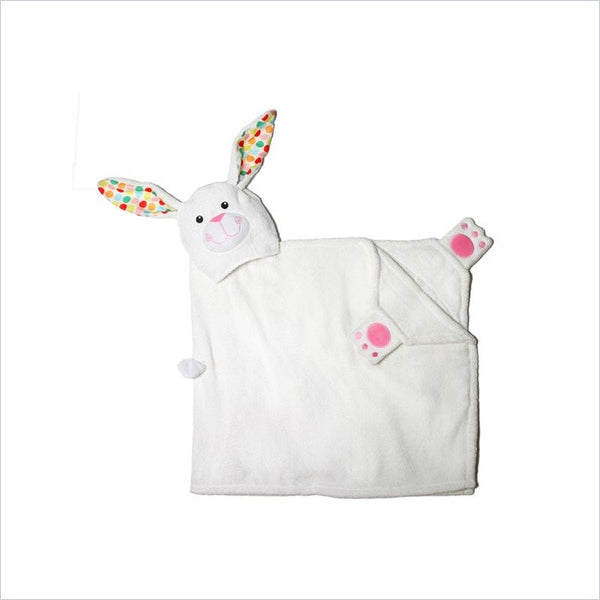 Zoocchini Toddler Hooded Towel in Bella the Bunny