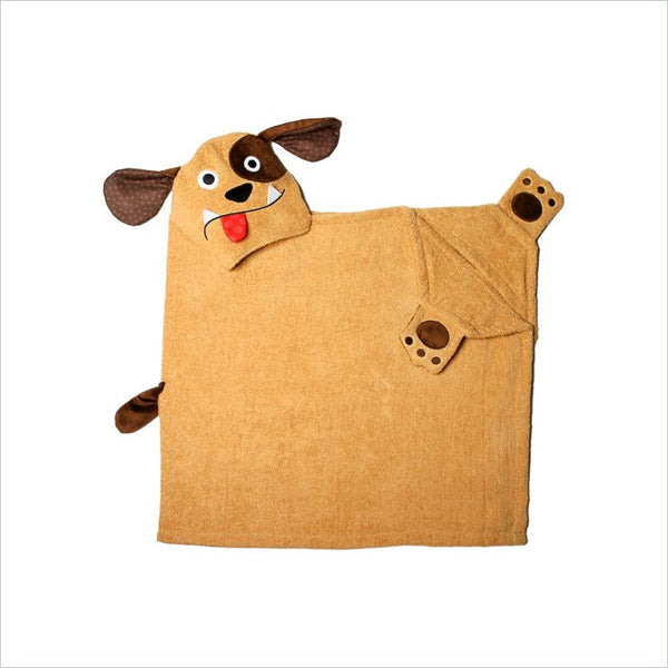 Zoocchini Toddler Hooded Towel in Duffy the Dog