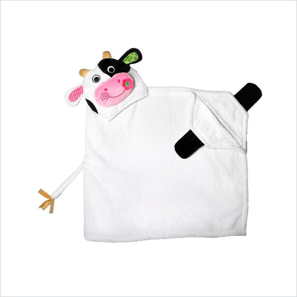 Zoocchini Toddler Hooded Towel in Casey the Cow