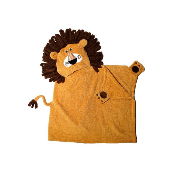 Zoocchini Toddler Hooded Towel in Leo the Lion