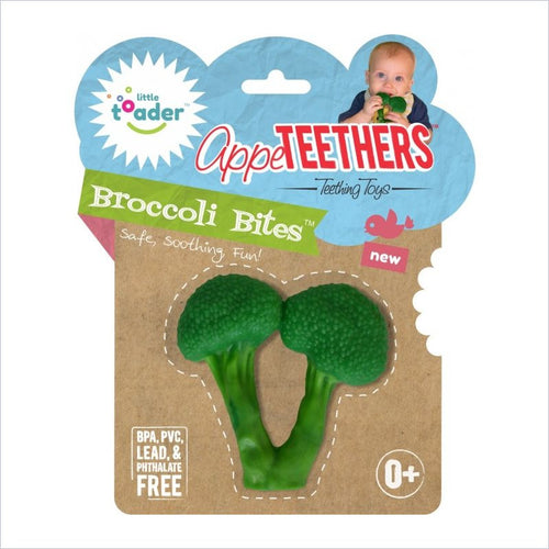 Little Toader AppeTeethers in Broccoli Bites