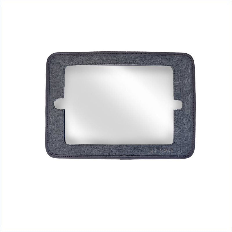 JJ Cole 2-in-1 Mirror in Heather Gray