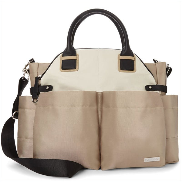 Skip Hop Chelsea Downtown Chic Diaper Bag in Champagne