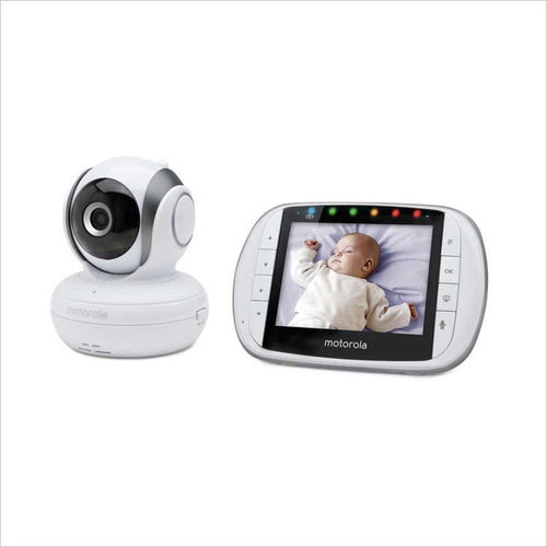 Motorola Remote Wireless Video Baby Monitor with 3.5-Inch Color LCD Screen