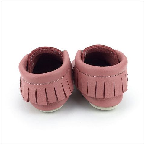 Minimoc Moccasins Shoes in Coral