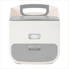 Ubbi Diaper Caddy in White and Grey