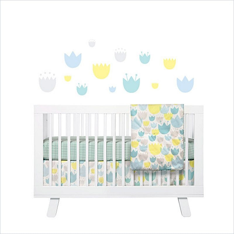 Babyletto Tulip Gardens Fitted Crib Sheet