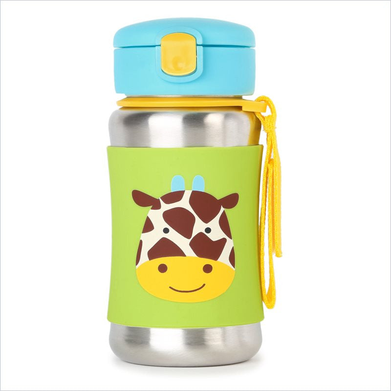 Skip Hop Zoo Stainless Steel Bottle in Giraffe