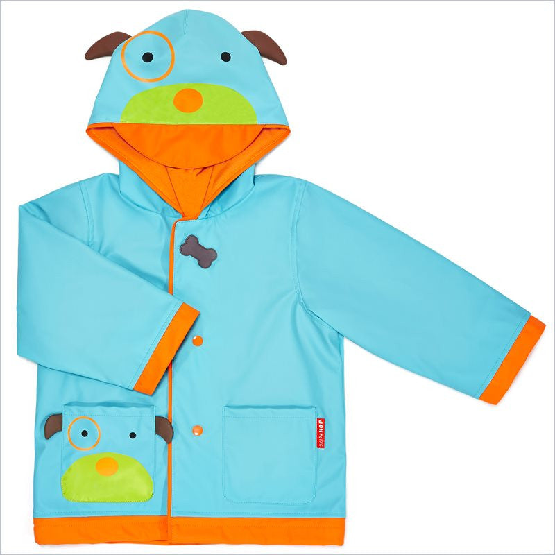 Skip Hop Zoo Little Kid Raincoat in Dog