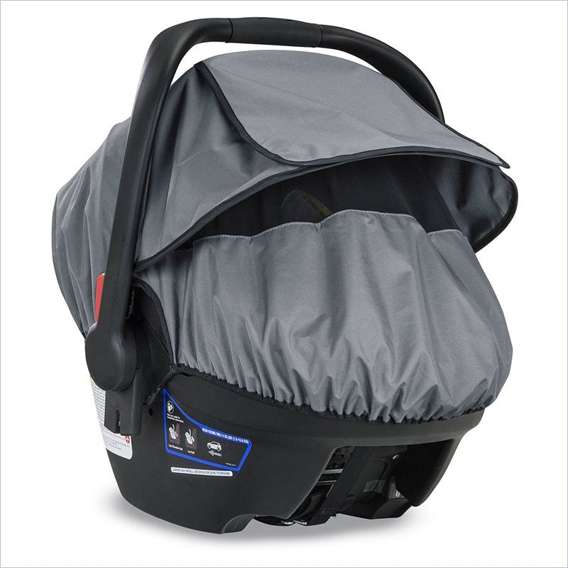 Britax B Covered Infant Car Seat Sun Bug And Rain Cover