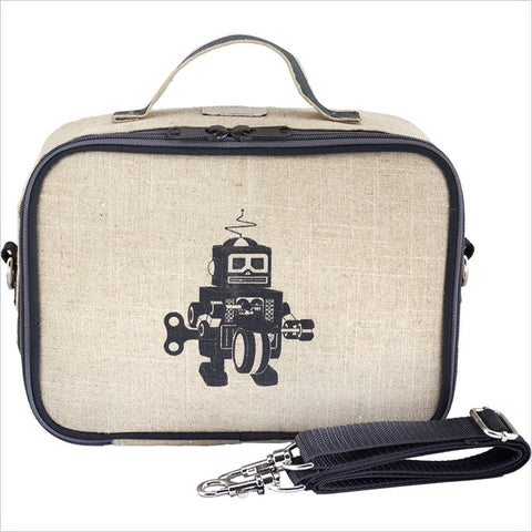 SoYoung Lunch Box in Grey Robot Raw Uncoated