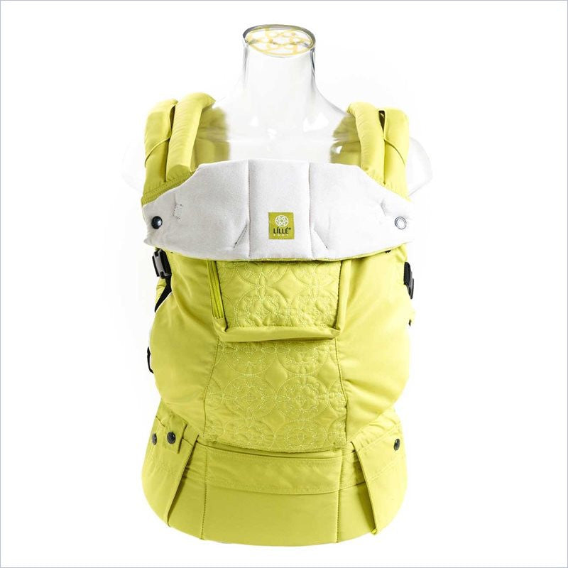 Lillebaby Embossed Baby Carrier in Citrus