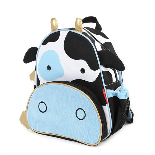 Skip Hop Zoo Pack Little Kid Backpacks in Cow
