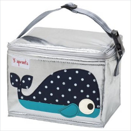 3 Sprouts Lunch Bag in Whale