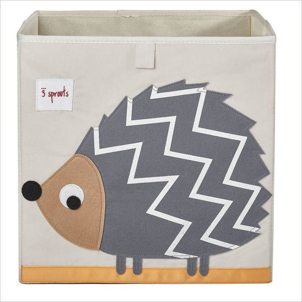 3 Sprouts Storage Box in Hedgehog Gray