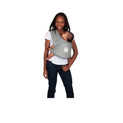 Baby K'tan Original Baby Carrier in Heather Grey