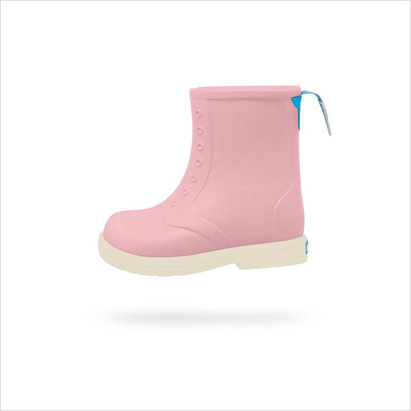 Native Shoes Sid Boot Child in Princess Pink/Bone White