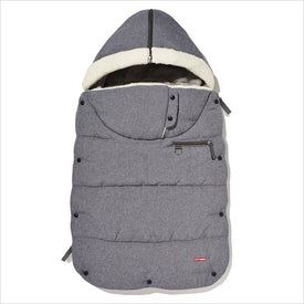 Skip Hop Stroll & Go Three Season Infant Footmuff in Heather Grey
