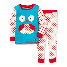Skip Hop Zoo Zoojamas Kid Pajamas in Owl