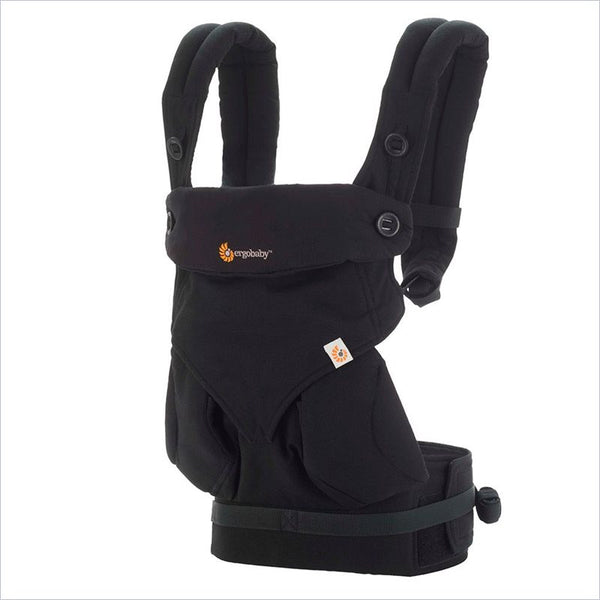 Ergobaby Four Position 360 Baby Carrier in Pure Black