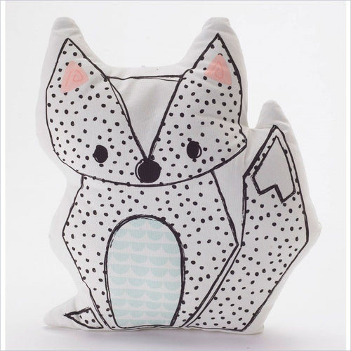 Living Textiles Sparrow Pillow Fox