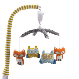 Living Textiles Woods Musical Mobile Fox/Owl