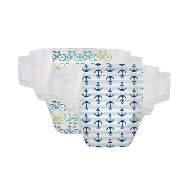 The Honest Company Diapers in Diapers Anchors and Bicycles Size 4