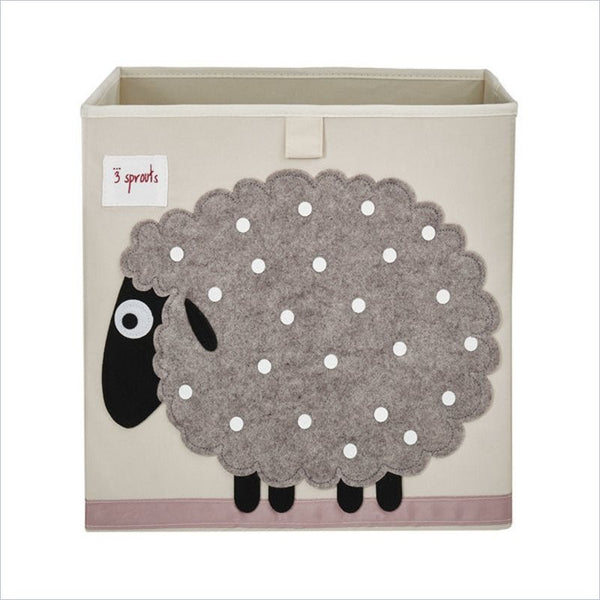 3 Sprouts Sheep Storage Box in Beige