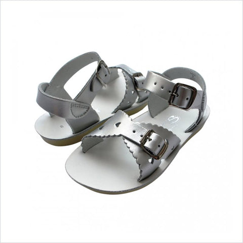 Salt Water Sandal Sweetheart in Silver